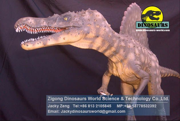 Mechanical dinosaurs for museum cartoon animals Spinosaurus DWD167