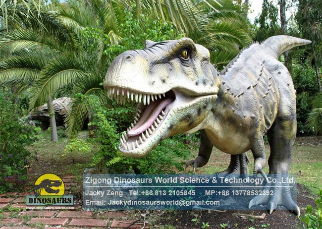 Middle Age Tyrannosaurus Rex In Italy Clients Dinosaur Park DWD1344