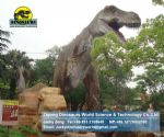 Outdoor playground equipment exhibition animatronic dinosaur DWD067
