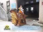 Fair Rides Artificial Dinosaur Animatronic Parasaurolophus Ride DWE067