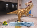 theme park large animated allosaurus Jurassic world Allosaurus DWD205