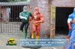 Film character model sculpture The Flash & Green Lantern DWC055