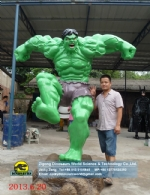 Hollywood, Classic movie character models Hulk DWC061