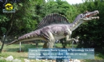 Life size artificial electric spinosaurus model DWD1431
