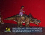 Walking Dinosaurs Ride For Children Protoceratops Model DWW006